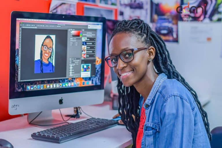 graphic design Students at ADMI